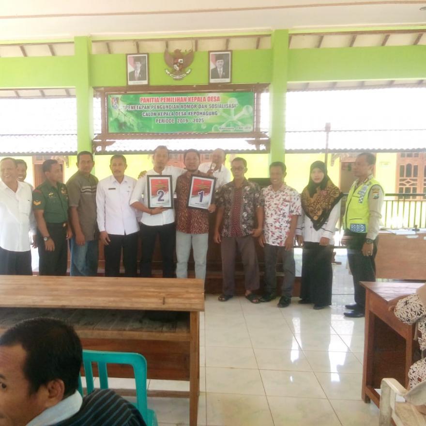 Album : Undian Nomor Urut Calon Kepala Desa Kepohagung
